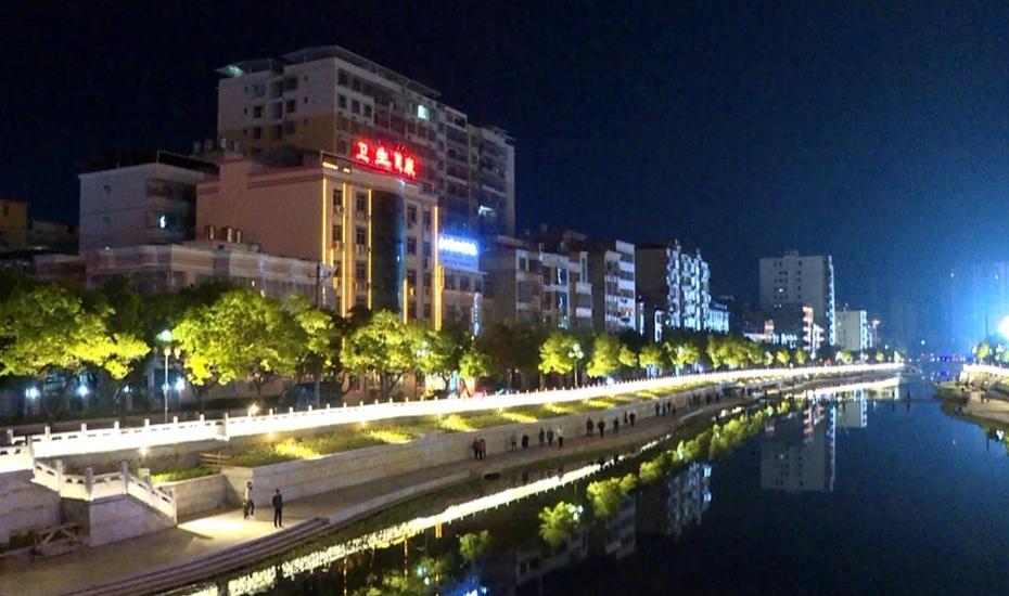 广东河源市连平县-南门桥亮化