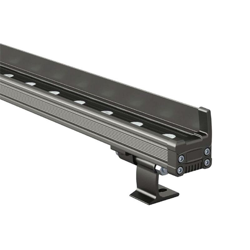 LED洗墙灯的组件及其发光方式